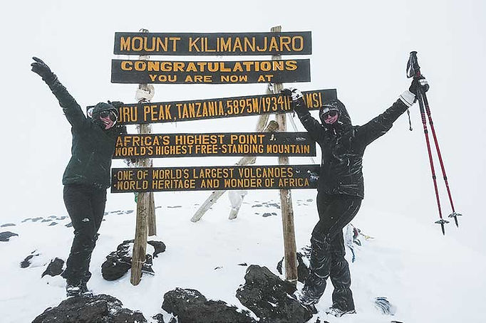 Tips beklimming Mount Kilimanjaro