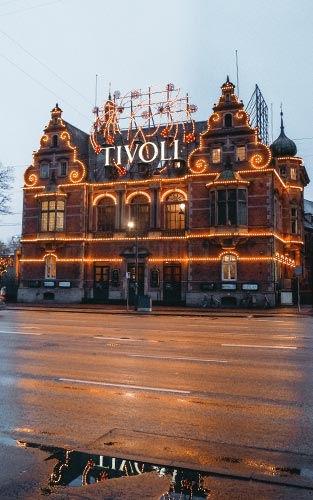 Bezoek Tivoli Kopenhagen tijdens de kerst