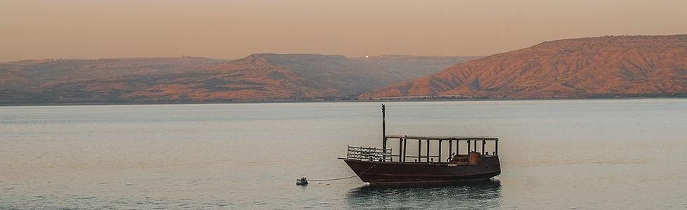 Varen op het meer van Tiberias