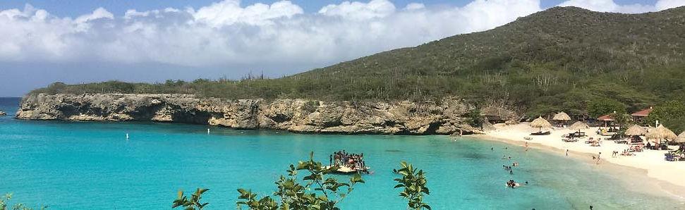 Baai in Curacao