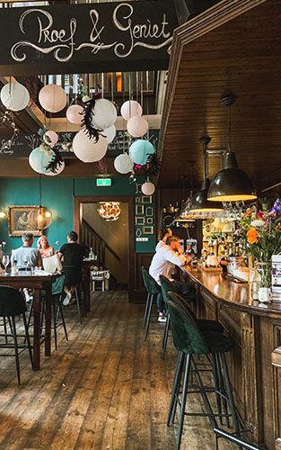 Restaurant en wijnbar De Nachtwacht in Meppel