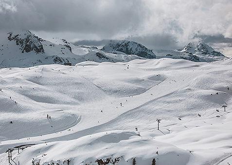 De Tauernrunde is een fantastische tocht in skigebied Obertauern