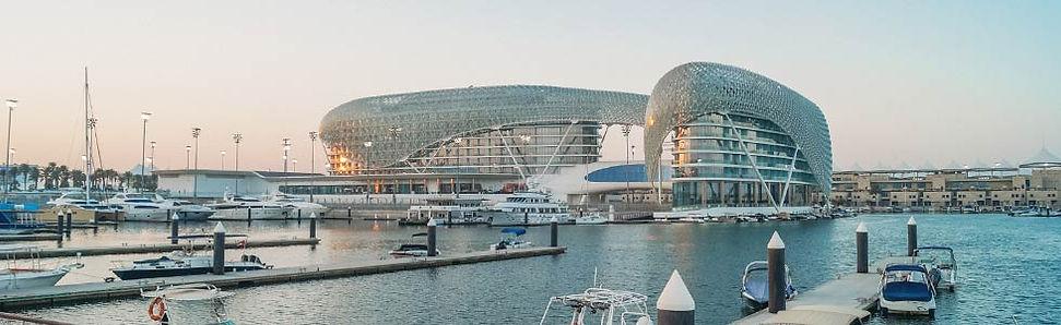 Yas Marina Circuit in Abu Dhabi (formule 1)