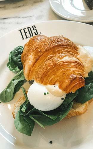 Ga lunchen of ontbijten bij Teds in Utrecht