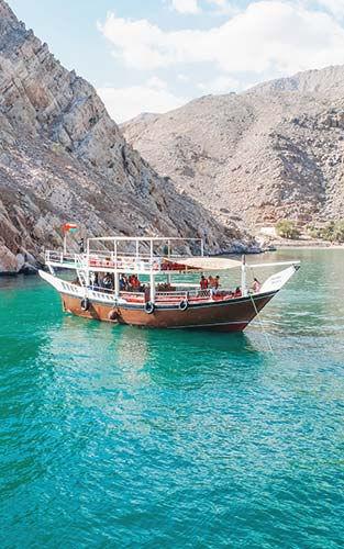 Een bezoek aan het Noorwegen van Arabië