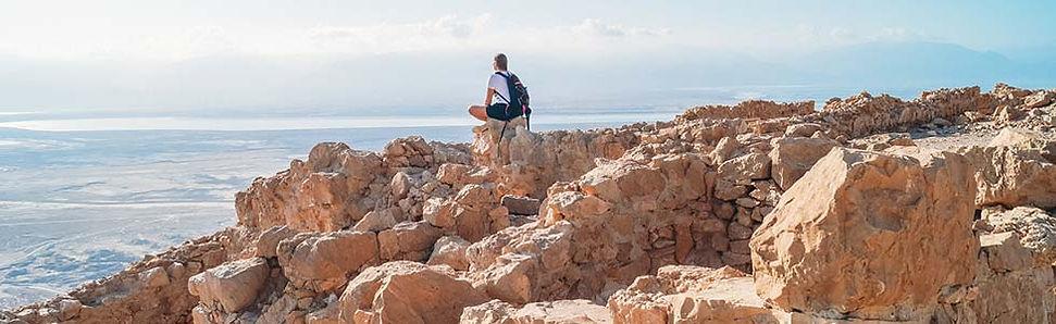 Tips hiken bij Massada