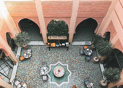 Overnachten in een Riad in Marrakesh