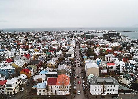 Dé hotspots in Reykjavik