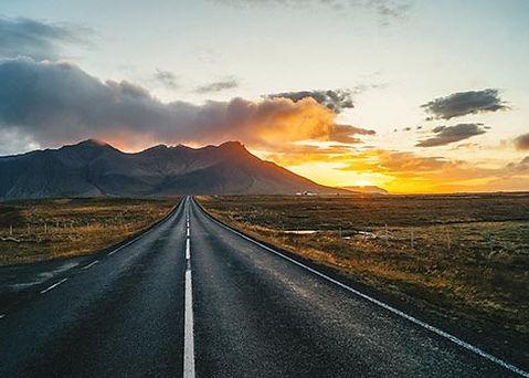 De golden circle route in IJsland rijden in de herfst