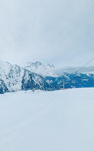 Mooie geprepareerde pistes in Mayrhofen