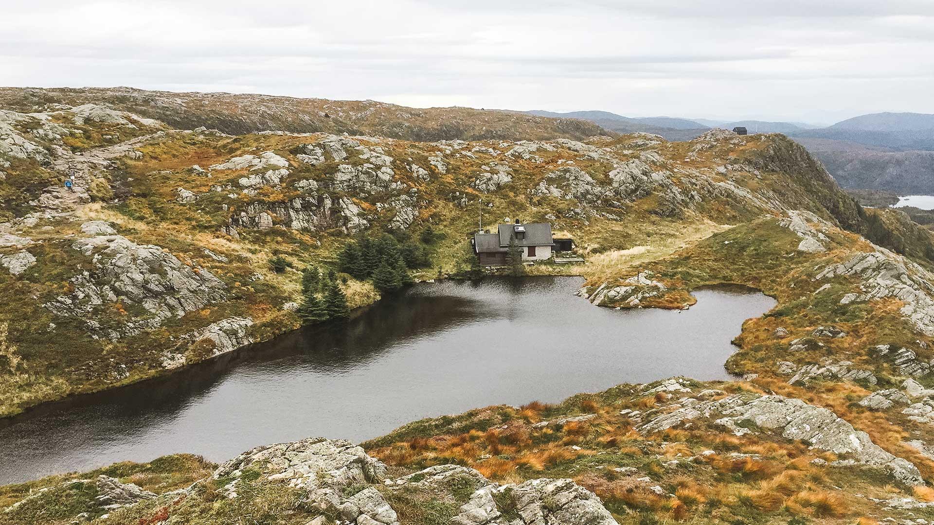 Noorwegen Mount Ulriken