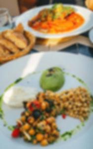 Eten bij Cafe Nomad in het hart van de Medina in Marrakesh