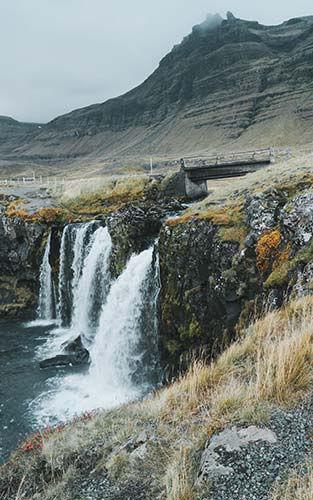 Dé bekende Kirkjufellsfoss waterval