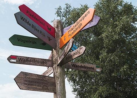 Wandelen bij natuurpark Dwingelderveld in Drenthe