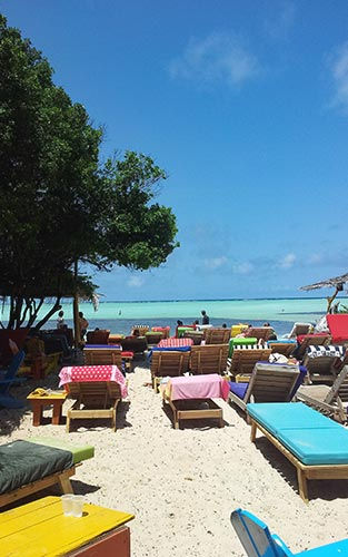 Windsurfspot in Bonaire