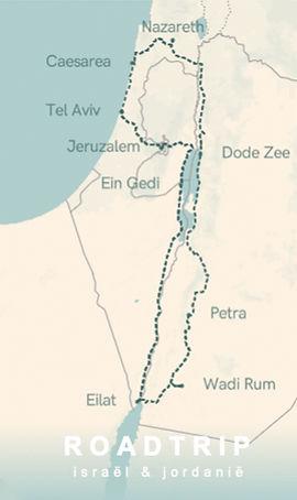 16-Daagse Roadtrip Israël en Jordanië