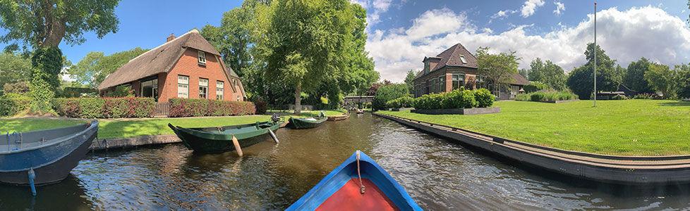Huur een fluisterboot in Giethoorn