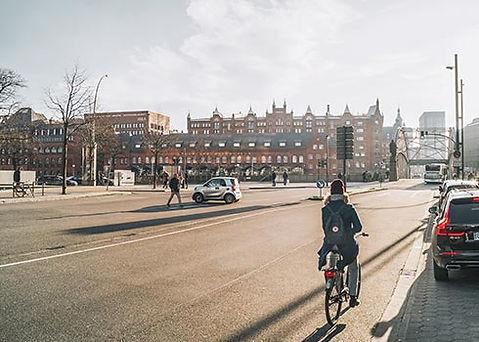 Hoogtepunten tijdends fietstocht in Hamburg