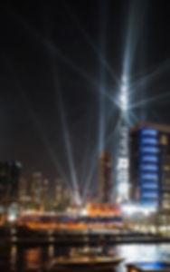 Oud en Nieuw vieren bij Burj Khalifa in Dubai