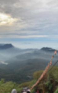 Hiken bij Adam's Peak
