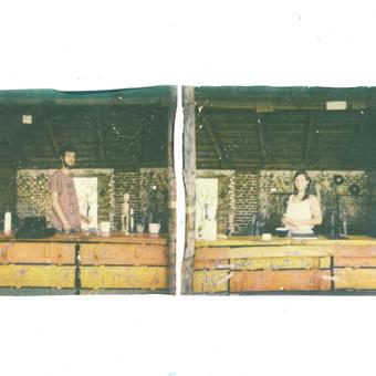 Polaroid experimental photo