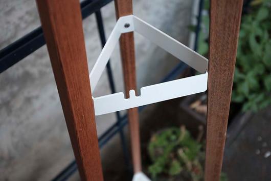 SALTO outdoor clothes rack