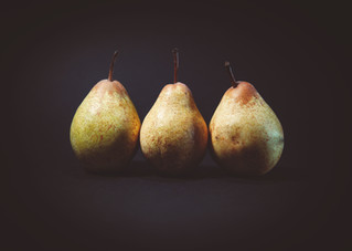 October Recipe: Baked Pears with Chuan Bei Mu and Honey