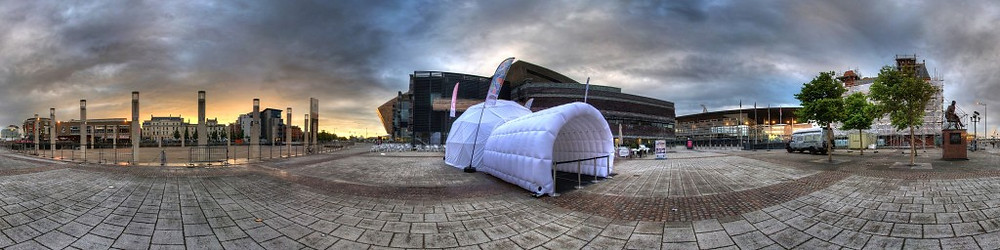 The Dance Dome. Image courtesty of 4Pi Productions.