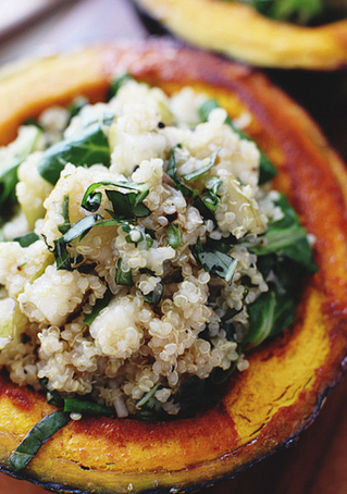 November Recipe: Squash Boats from Sprouted Kitchen!
