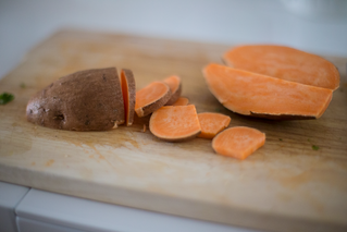Cinnamon Orange Sweet Potatoes