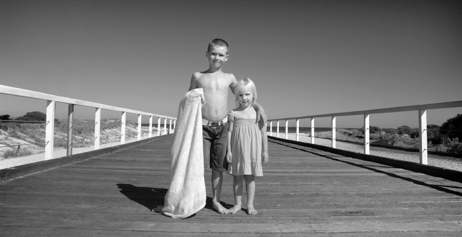 Beach Portraits Kids