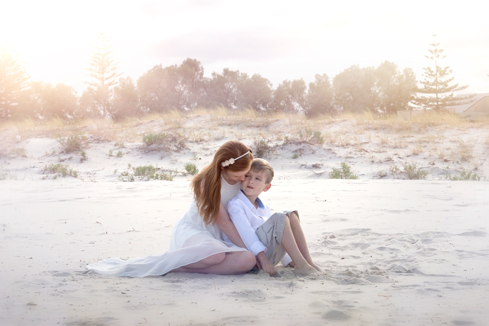 Siblings Beach Photography