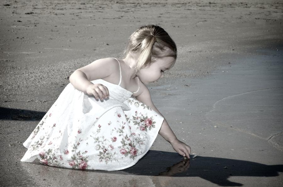 Young Girl Beach Portraits Adeleaide