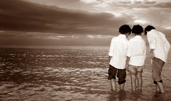 Brothers At Beach Photographer