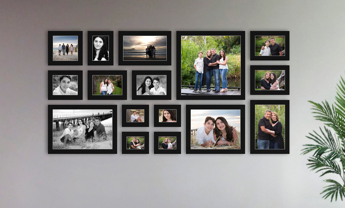 Wall Art Gallery - Family Portraits Adelaide
