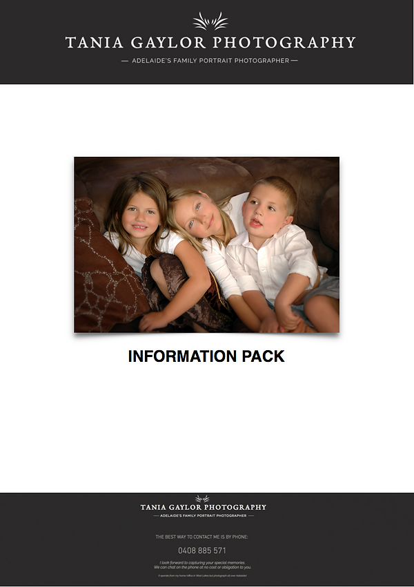 Information Pack (Newborn Baby)