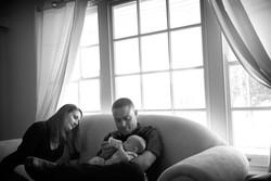 Newborn Portraits At Home