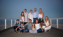 Whole Family Beach Portraits