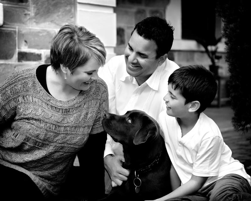 Family Portriats At Home, Semaphore