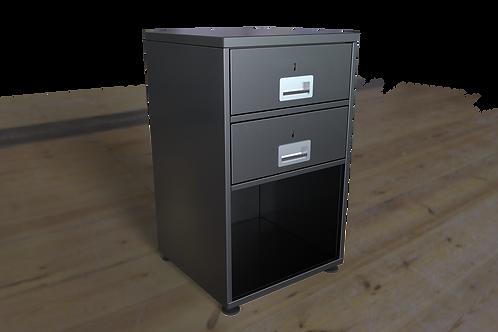 2 Drawer Security Pedestal