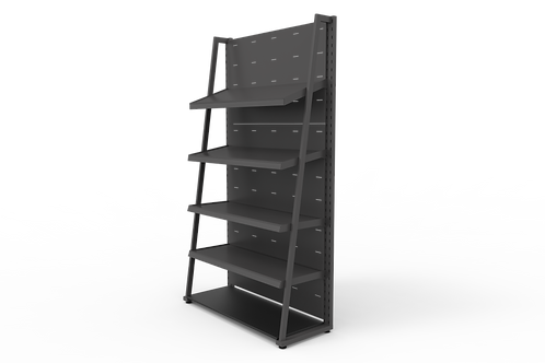 Retail Wall bay (With Shelves)