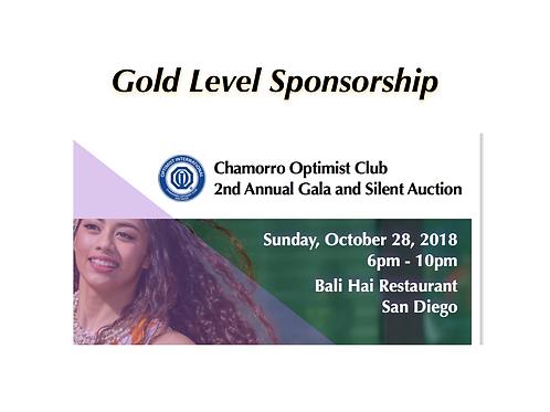 Gala Gold Sponsorship