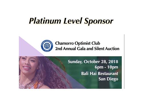 Gala Platinum Sponsorship