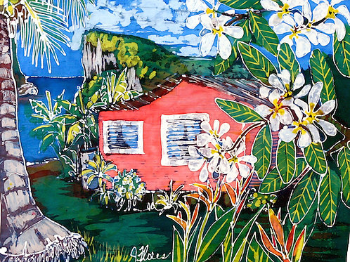 Print: Home on The Bay