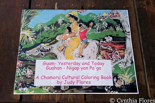 A CHAMORU CULTURAL COLORING BOOK