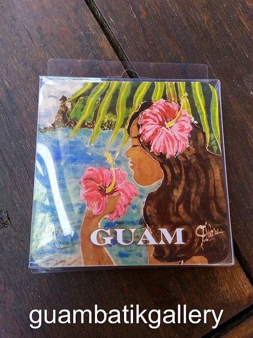 Memories of Guam Coaster Set of 4 (3rd Release)