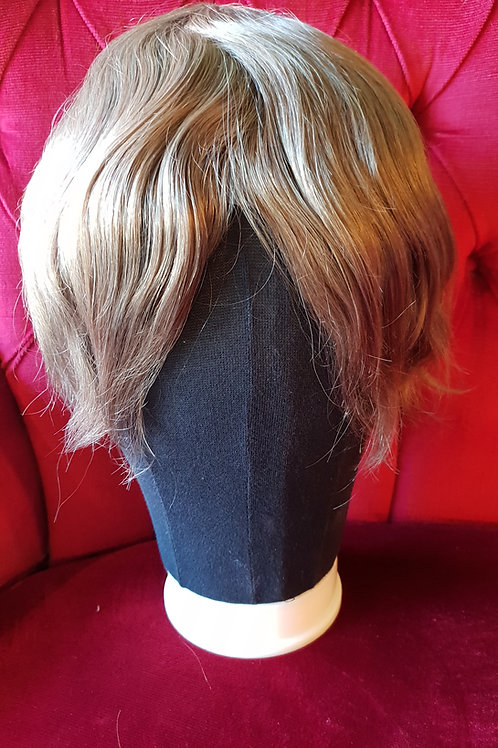 Male Hair Replacement System Shade 7 Ash