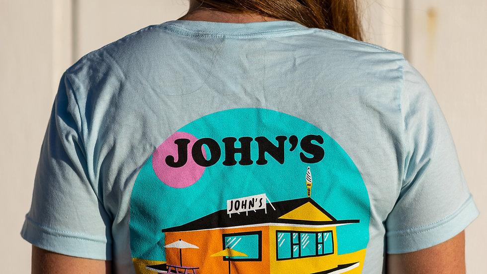 Short Sleeve Tee  John's x Katy Spore
