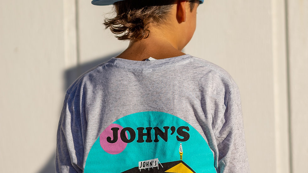 Blue Trucker Hat John's Mom Hats | John's x Katy Spore Collection
