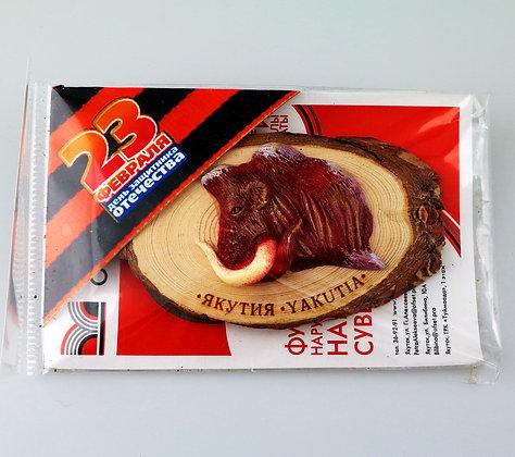 Магнит «Красный мамонт»